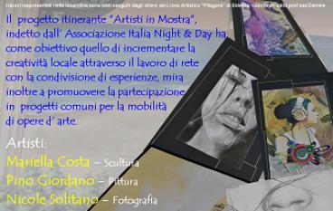 """A Scilla ultima tappa dela mostra """"Artisti in Mostra"""""""