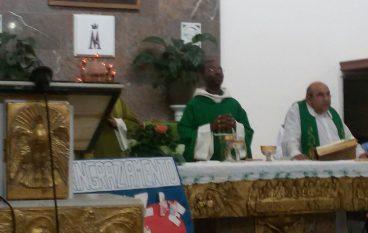 Reggio, il saluto della parrocchia di Modena a Don Maurice Blaise