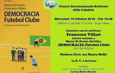 Reggio Calabria, il CIS promuove incontro con lo scrittore Villari