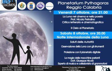 """Al Planetario Pythagoras """" La notte internazionale della Luna"""""""