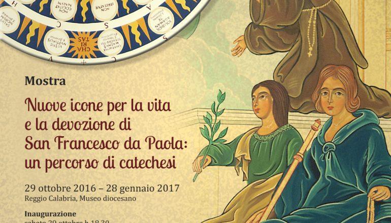 Reggio, al Museo diocesano in Mostra nuove icone su San Francesco da Paola