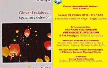 """Reggio Calabria, il CIS presenta il libro di """"Pat"""" Porpiglia"""