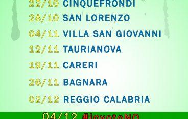 """Referendum: Idea Calabria organizza il """"Tour del NO"""""""