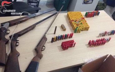 Controlli nella locride: rinvenuti fucili e munizioni