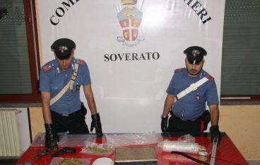 Soverato, arrestati due fratelli per detenzione ai fini di spaccio