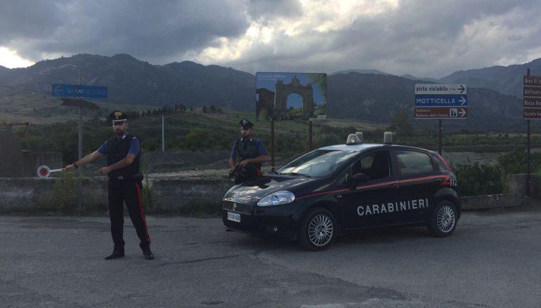 Controlli dei Carabinieri nella locride, 6 denunce