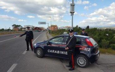 Locri, controlli dei Carabinieri: un arresto e 4 denunce
