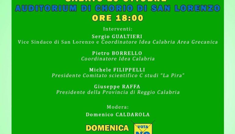 """Chorio di San Lorenzo, al via """"#TOURdelNO"""" di Idea Calabria"""