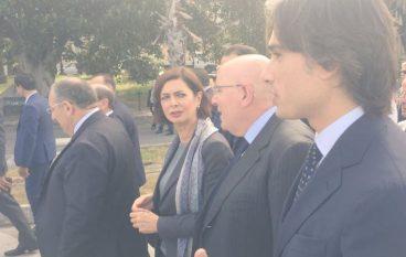 Reggio Calabria, Laura Boldrini alla manifestazione nazionale