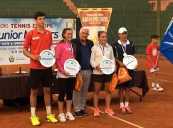 "Tennis Europe Junior Masters 2016: al ""Polimeni"" vince Federica Sacco"