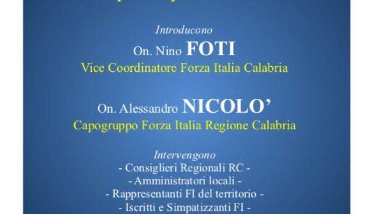 Reggio Calabria, incontro organizzato da Forza Italia