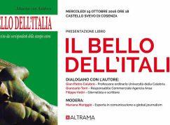 """Cosenza, presentazione del libro """"Il bello dell'Italia"""""""