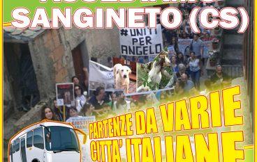 "Caso Angelo, NOITA Onlus: ""Invaderemo Sangineto"""