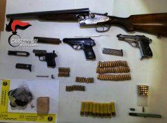 Reggio: un arresto per detenzione di tritolo, armi e munizioni