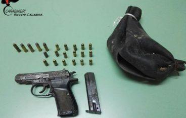 Placanica, un arresto per detenzione illegale di armi e munizioni