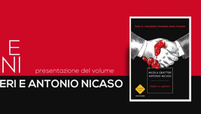 """Reggio, alla """"Mediterranea"""" la presentazione di """"Padrini e Padroni"""""""