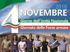 Cosenza, Cerimonia Militare per festeggiare la Giornata delle Forze Armate