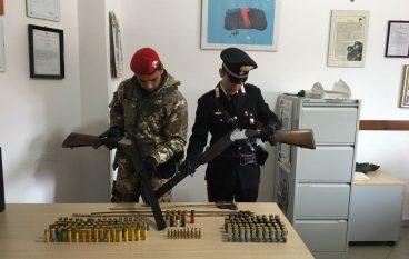 Ciminà, continuano i rinvenimenti di armi e munizioni