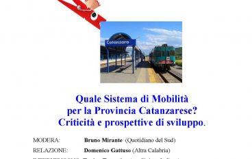 A Catanzaro iniziativa pubblica sul sistema della mobilità