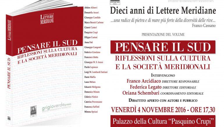 """Reggio, dieci anni di """"Lettere Meridiane"""": un volume per festeggiare"""