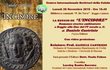 """Cis: presentazione romanzo """"La Reggio de L'incisore"""""""