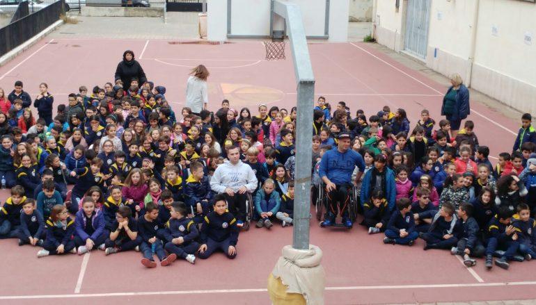 Reggio Calabria Basket in carrozzina entra nelle scuole