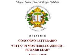 """A Montebello Jonico la premiazione del concorso """"Edward Lear"""""""