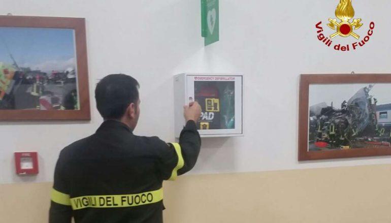 Ventuno AED per sedi vigili del fuoco della Calabria