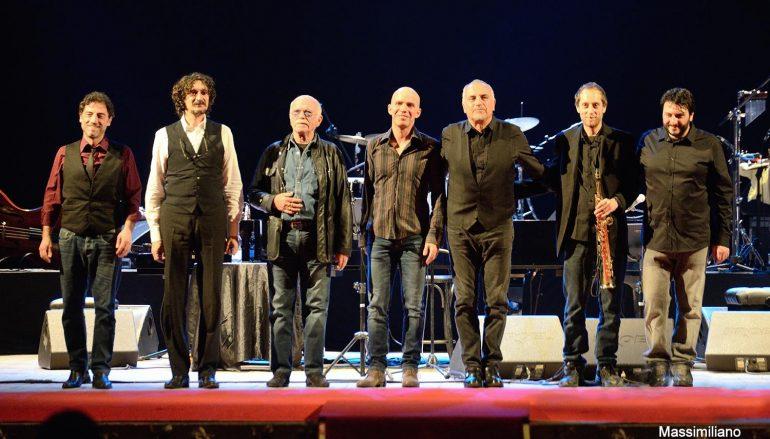 Cosenza, al Rendano con Gino Paoli, Sergio Cammariere e Danilo Rea