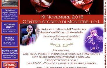 A Montebello Jonico la terza Festa del Vino Novello
