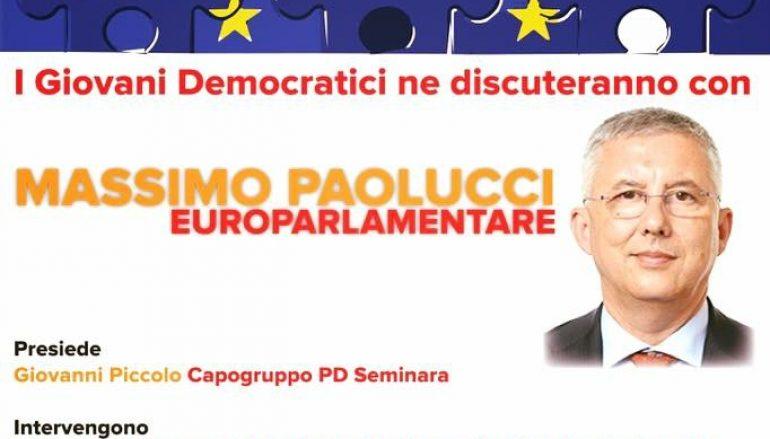 Seminara, iniziativa dei GD con Massimo Paolucci