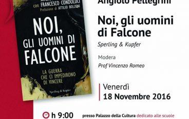 """A Locri la presentazione del libro """"Noi, gli uomini di Falcone"""""""