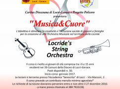 Locri, disponibili 30 posti per la Locride's String Orchestra