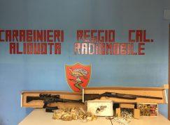Reggio Calabria, aveva arsenale in casa: arrestato pensionato