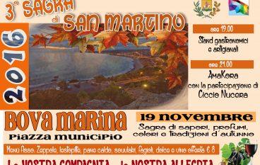 """A Bova Marina in arrivo la """"Sagra di San Martino"""""""