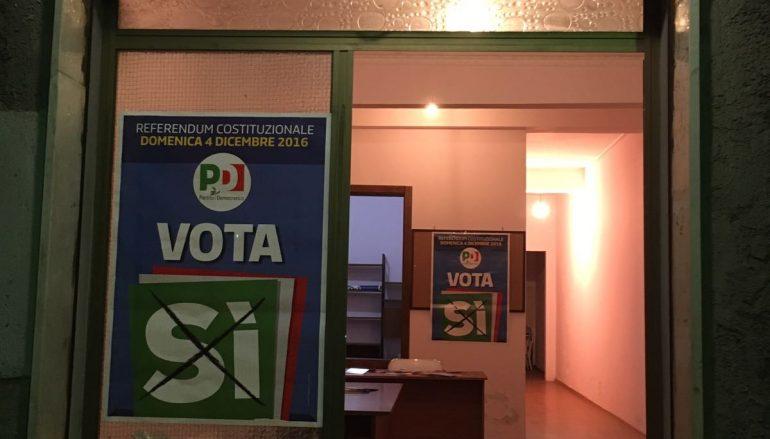 Reggio Calabria, nuova sede dei Comitati per il Si