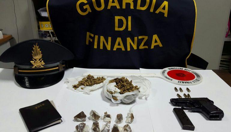 Sequestrate armi e droga nei pressi dell'Unical