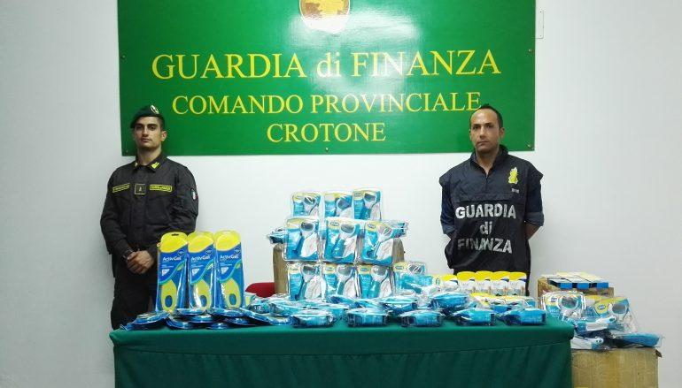 Crotone, sequestrati prodotti con marchio contraffatto