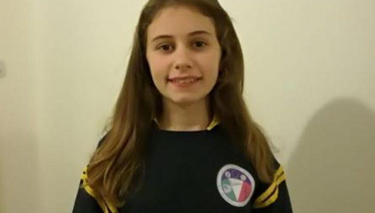 Valeria Amodeo è baby sindaco dell'Ist. Falcomatà Archi di Reggio Calabria