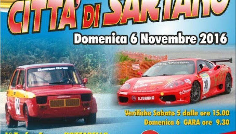 """Automobilismo: ritorna lo """"Slalom Città di Sartano"""""""