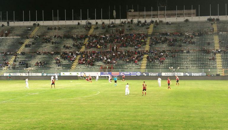 Reggina-Taranto 2-2, il tabellino