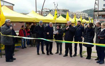 Rossano, inaugurato il mercato di Campagna Amica Coldiretti