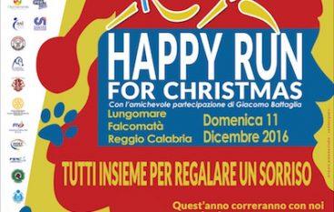 "Giusy Versace lancia la ""Happy Run for Christmas"""
