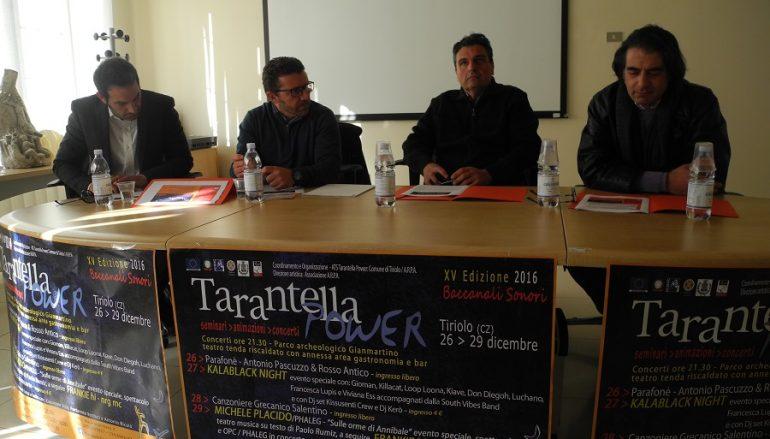 """Tiriolo, presentata la 15esima edizione di """"Tarantella Power"""""""