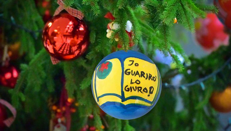 A Cosenza la cerimonia di accensione dell'albero di Natale