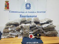 Fermato con oltre 50 Kg di marijuana, arrestato rosarnese