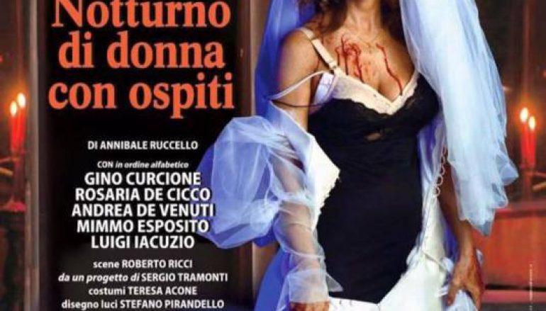 """Giuliana De Sio in """"Notturno di donna con ospiti"""": tre tappe in Calabria"""
