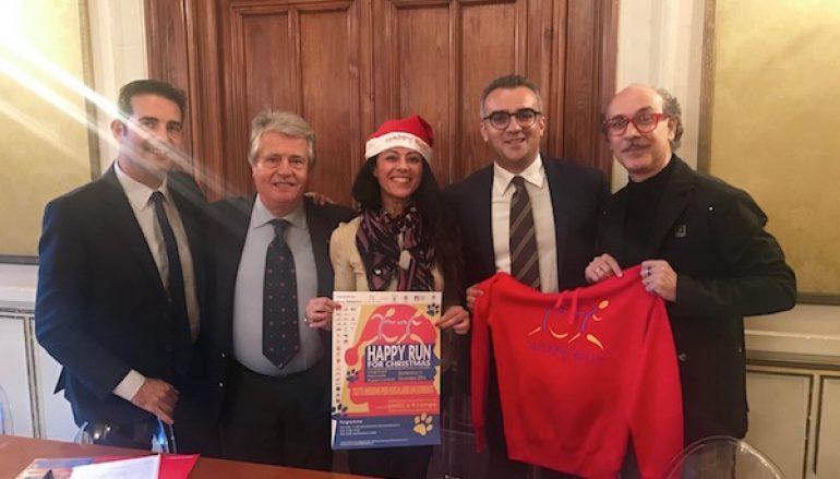 """Presentata la """"Happy Run for Christmas"""" di Giusy Versace"""