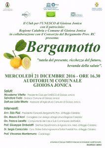 locandina bergamotto
