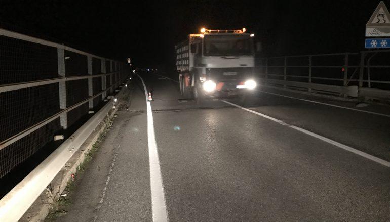 Anas: limitazioni al traffico lungo un tratto della SS 107